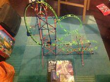 knex Amazin 8 Roller Coaster Building Set With Motor free p&p