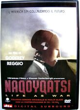 Dvd Naqoyqatsi - Life as war di Godfrey Reggio 2002 Usato raro fuori cat.
