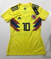 Colombia Federacion Colombiana De Futbol Football Jersey Womens Small Adidas