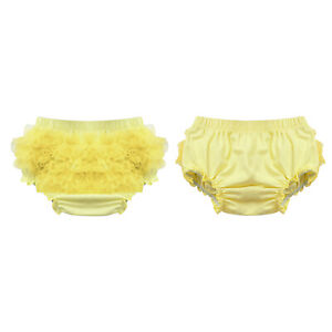 Infant Baby Boys Girls Briefs Toddler Bloomers Summer Casual Bottoms Solid Color