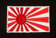 JAPAN NIPON JAPANESE FLAG LAND OF THE RISING SUN BADGE IRON SEW ON PATCH