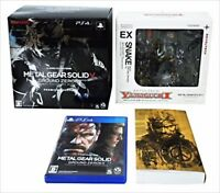 METAL GEAR SOLID V GROUND ZEROES PS4 premium package USED F/S