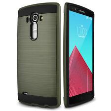 Hybrid Rugged Shockproof Brushed Slim Hard Case Phone Cover For LG G3 G4 G5 V10