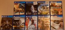 PS4 12 Game Lot Call of Duty The Last of Us Battlefront Assassin's Mad Max +