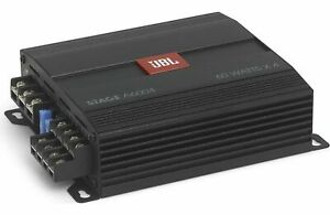 AUTHENTIC JBL Stage A6004 60W x 4 Car Amplifier 240 WTS SMALL SIZE - 2 DAY SHIP