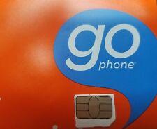 AT&T PREPAID MICRO 4G LTE sim.  NEW UNACTIVATED. GOPHONE SIM loose sim.