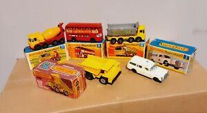 Lot Matchbox Superfast In Original Box Series
