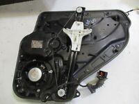GENUINE 2008 VW GOLF TSI 1.4L MK6 2007-09, LEFT REAR WINDOW MECHANISM 5K4839755