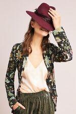 NWT Anthopologie Floral INTARSIA Blazer Size M