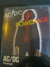 Vintage Audio Cassette Tape Rock Pop As seen AC/DC Powerage