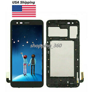 """OEM FOR LG Tribute Empire (LM-X220PM) 5""""Sprint LCD SCREEN+TOUCH GLASS±Frame USPS"""