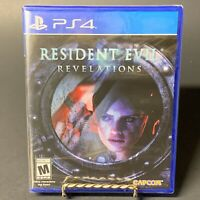 Resident Evil Revelations PS4 (Sony PlayStation 4, 2017) Brand New Free Shipping