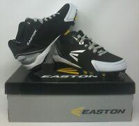 Men's Black and White Easton Elite Cleats (Size: 8.5)
