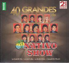 Nativo Show 40 Grandes Exitos 2CD Caja De Carton Nuevo sealed