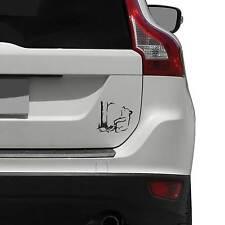 Banksy Winnie the Pooh Bear Vinyl Decal for Vehicles / Car Decal / Vinyl Deca...