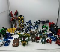 Transformers Lot of 37 Multi Generations Unresearched