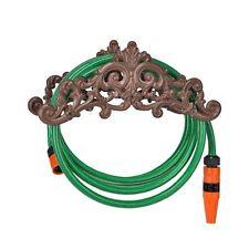 Cast Iron Antique Design Wall Mounted Garden Hose Holder Stand Storage Ornament