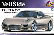 1/24 AOSHIMA 000722 MAZDA VEILSIDE FD3S RX-7 COMBAT VER Plastic Model Car Kit