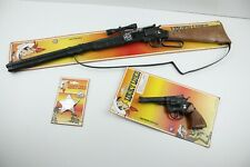 180 - Lucky Luke Set: Gewehr, Revolver & Stern (Spielzeug) OVP
