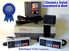 NES Console + Original Super Mario Bros. Game - BEST PINS - Guaranteed