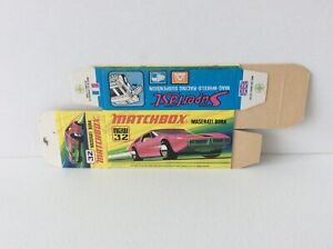 MATCHBOX SUPERFAST 32 FLAT BOX for MASERATI BORA ,  see pictures never used