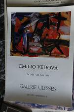 EMILIO VEDOVA  - GALERIE ULYSSES - VIENNAI 1986