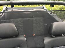 VW Golf 3 Cabrio - Windschott Rollo mit schwarzen Klickverschluss  PLATZSPAREND