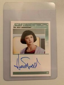 Star Trek - Hallie Todd - Lal - Signature card - Limited edition Hand signed
