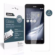 2x Asus ZenFone AR Schutzfolie - Folie Glasfolie 9H  dipos Glass Kunststoffglas
