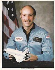 JIM BAGIAN -- AUTOPEN SIGNED OFFICIAL NASA 8X10 PHOTOGRAPH