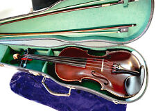 Geige 4/4 Stainer mit Brandstempel u. Zettel um 19. Jhd. Violine