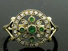 Ring Emerald Vintage & Antique Jewellery