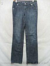 D3644 Michael Kors Stretch Straight Top Grade Jeans Women Measured 30x33