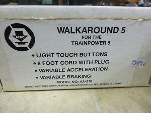 -HO TRANSFORMER-POWER PACK-MRC 5 WALKAROUND5  CONTROLLER