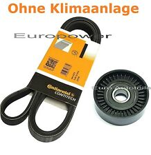 V-RIBBED BELTS+TENSION PULLEY AUDI A3 8L1 8P1 8PA TT 8N3 1.6 1.8 T 1.9 2.0