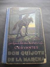 LIBRO DON QUIJOTE DE LA MANCHA. ED. RAZON Y FE 1945