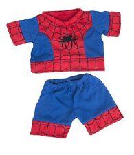 """Teddy Bear Clothes - Spider-Man  PJ's, fits 16"""" teddy mountain and Build a Bear"""