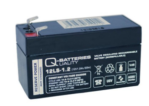 Ersatzakku für Mercedes Stützbatterie N000000004039 12V/1,2Ah AGM-Backup