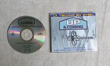 "CD AUDIO/ UP & COMING SAMPLER 1997 - TECHNO HOUSE EXPLORATIONS"" CD PROMO SAMPLER"