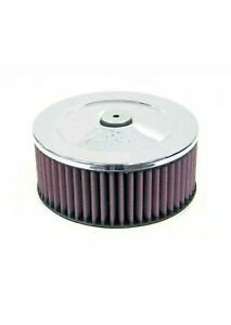 K&N 60-1020 Round Air Filter  Vent 2.313 inlet Diameter 7 Diameter 4.06  Height