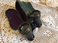 vintage antique binoculars Theater Opera Glasses Brass