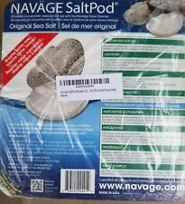 Navage Salt Pods (1) 30CT For Use in the Navage Nasal System BRAND NEW & SEALED