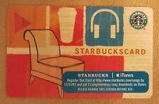 Starbucks Card - ** iTunes Plus 2 Special Edition ** 2007, Retired, Rare & VHTF