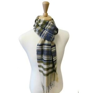 Cashmere Blend Woven Scarf - Made in Elgin, Scotland
