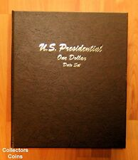 2007 - 2016 S Presidential $1 39 Coin PROOF COMPLETE Set in New Dansco Album