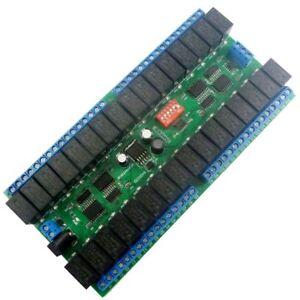 1 PCS DC 12V 10A 32ch Modbus RTU RS485 Switch Board UART PLC LED PTZ IP Camera