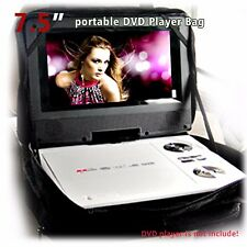 "7"" 7.5"" Portable DVD Player Carry Bag Strap Case Storage for Car Headrest Mount"