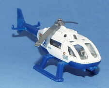 Matchbox Die Cast Rescue Helicopter marked Med Alarm