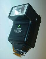 SUNPAK AUTO THYRISTOR 144D DEDICATED FLASH Nikon Canon, Pentax Ricoh,Minolta