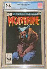 WOLVERINE LIMITED SERIES #3 (1982)  CGC 9.6 Miller Classic !!